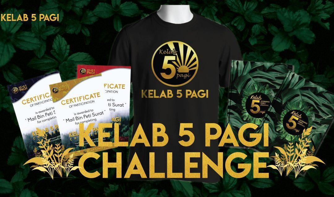 Sertai Kelab 5 Pagi Challenge