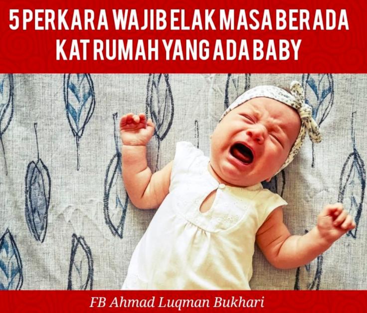 Berkunjung ke Rumah yang Ada Bayi  : Apa yang perlu dilakukan